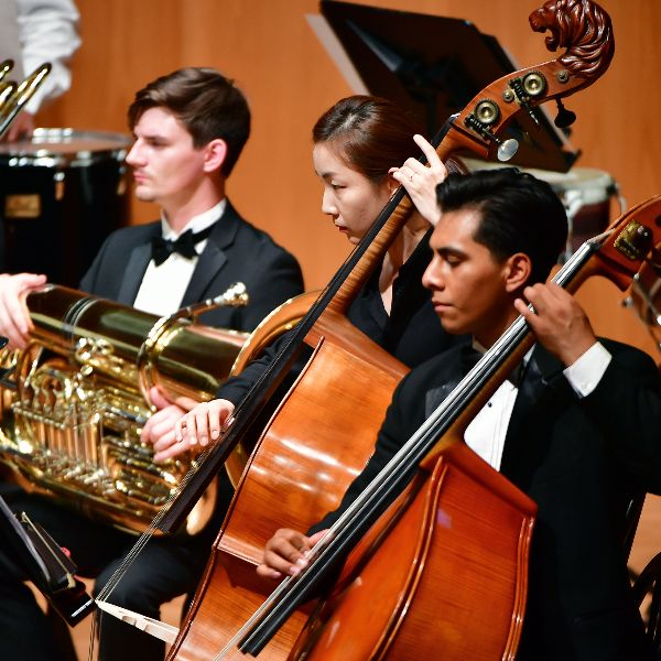The CSUSB Orchestra performs in South Korea