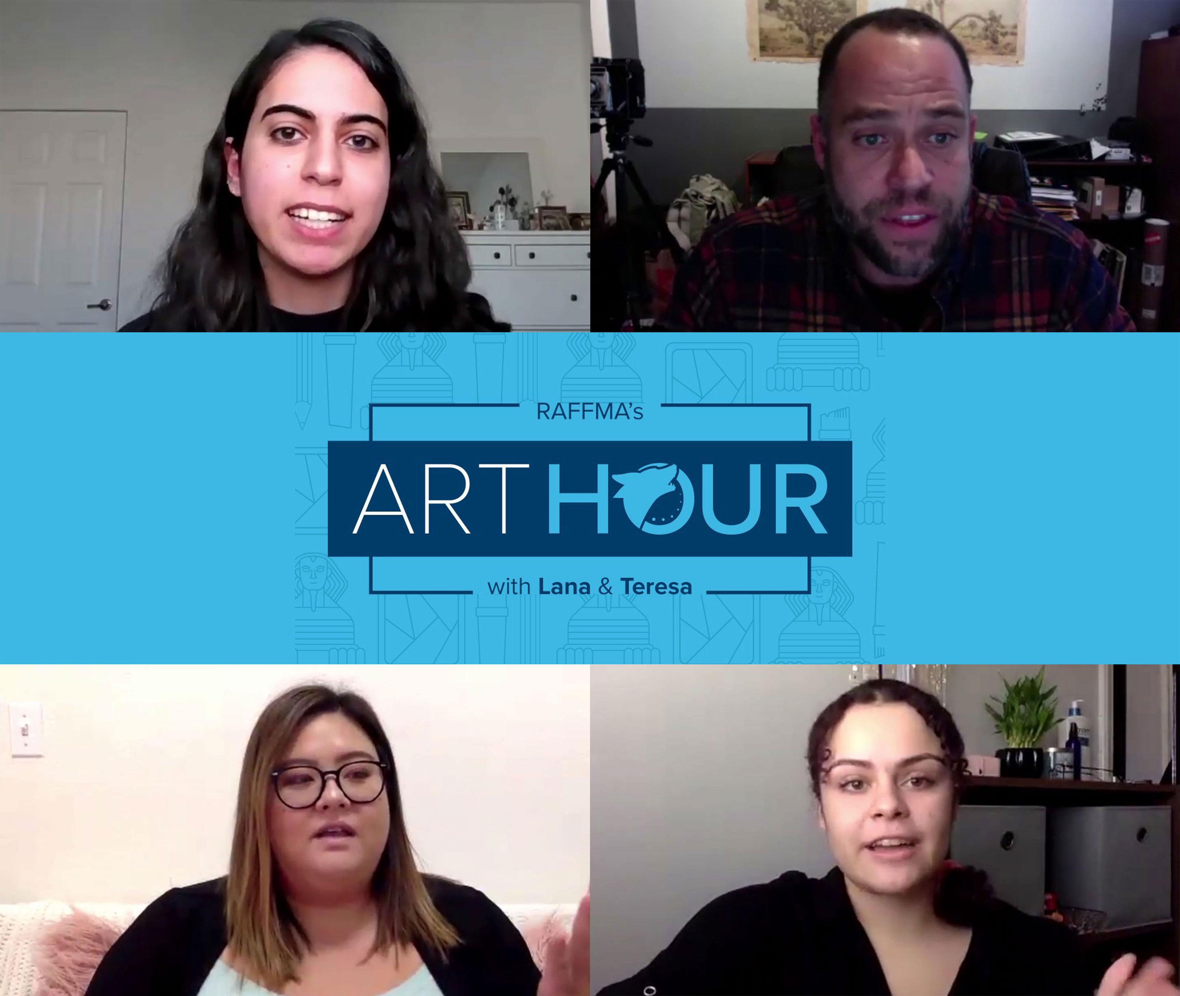 RAFFMA's Art Hour with Lana & Teresa