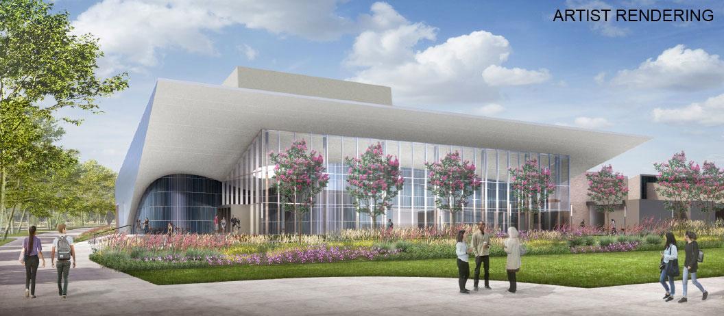 New Performing Arts Center at CSUSB
