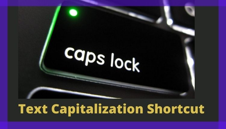 Automated Text Capitalization - How it works?