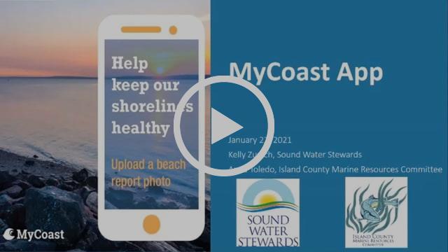 Preview of MyCoast app tutorial webinar on Vimeo