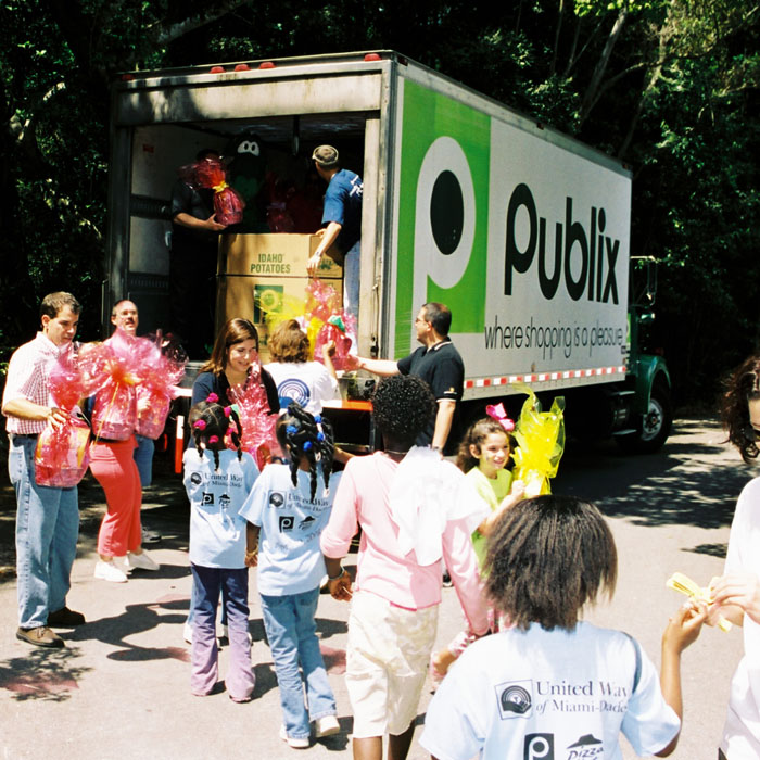 Publix becomes top United Way Worldwide corporate donor!