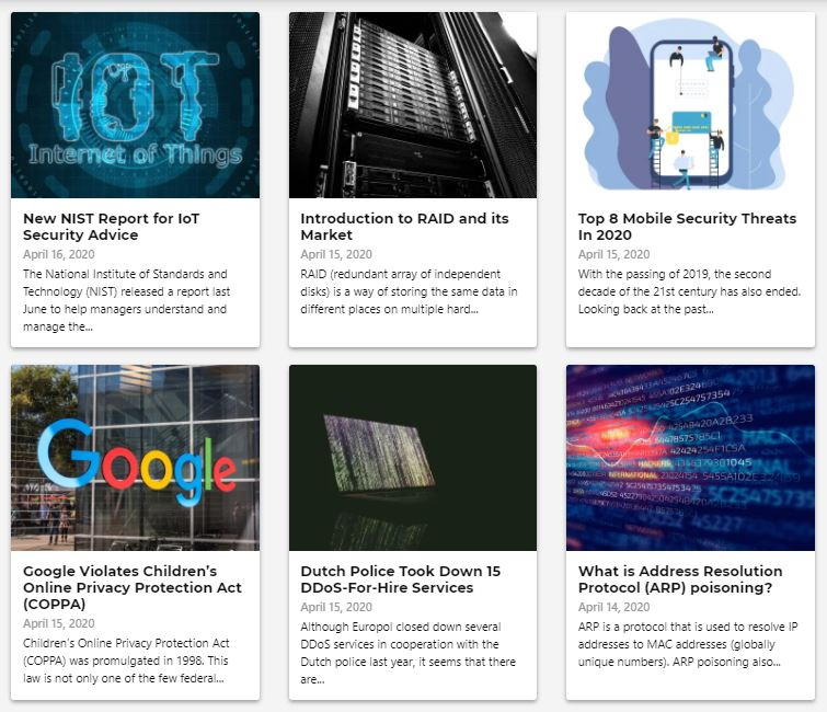 LIFARS cyber security blog updated daily by our cyber resiliency experts, authors and professionals