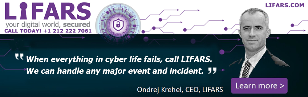 LIFARS is a highly technical, New York City based incident response and digital forensics firm specializing in proactive and reactive solutions to optimize your organization's cybersecurity exposure
