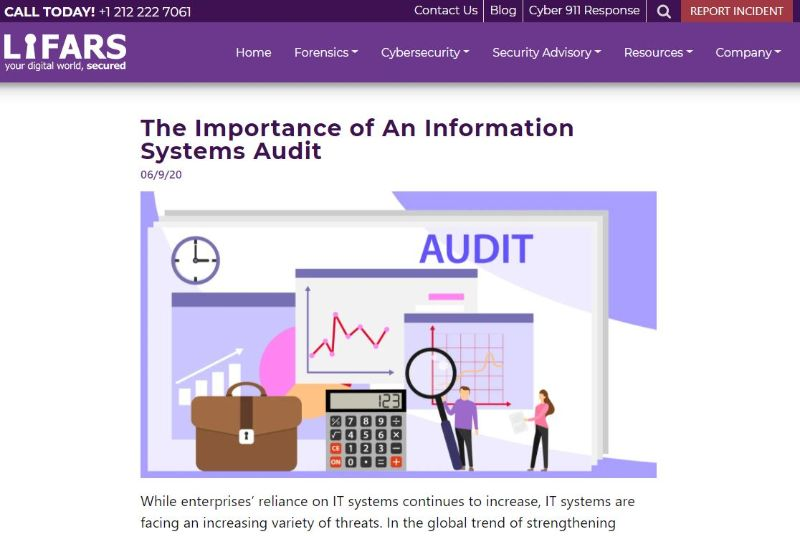 The Importance of An Information Systems Audit