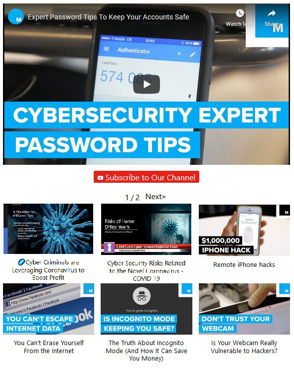 Cyber Security Video Training - Learn Cybersecurity From the LIFARS Experts