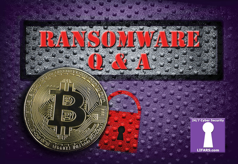 OFAC Guidance for Ransomware Payments. LIFARS Q and A Session with David Tannenbaum