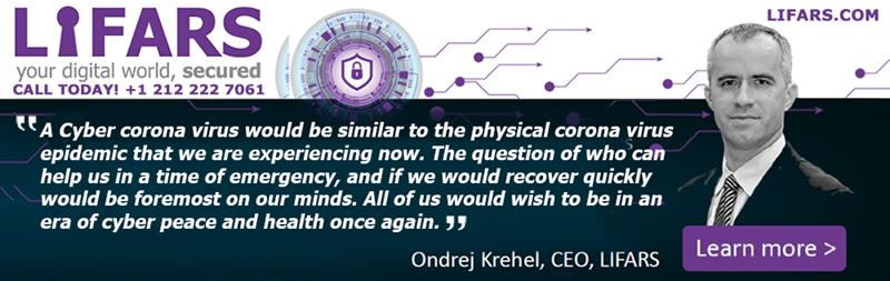 Cyber Security Newsletter - Ondrej Krehel quote