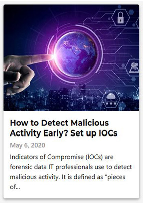How to Detect Malicious Activity Early? Set up IOCs