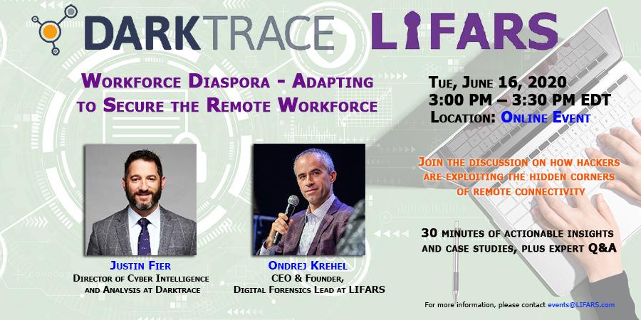 Workforce Diaspora – Adapting to Secure the Remote Workforce