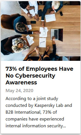 73% of Employees Have No Cybersecurity Awareness