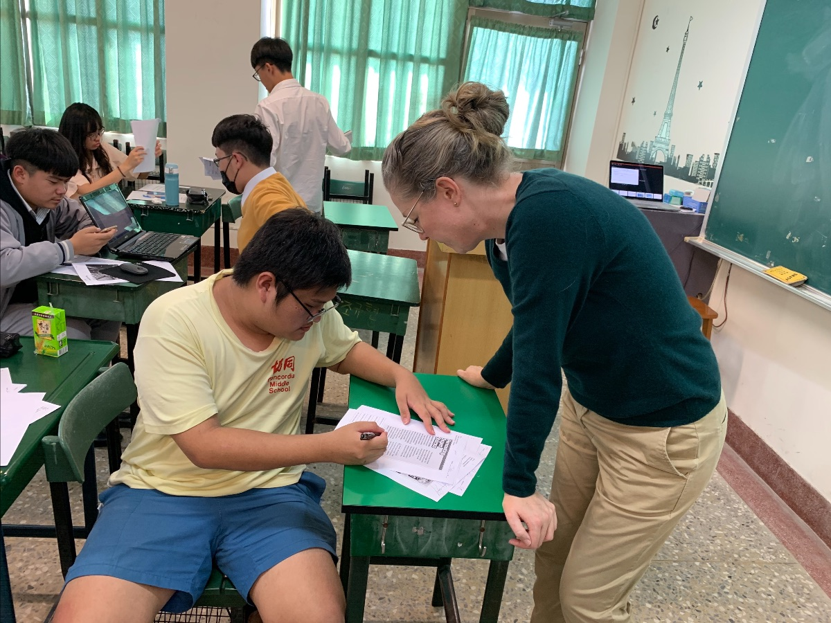 Assisting Senior High School Student