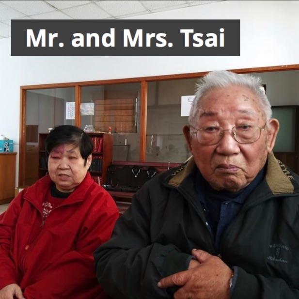 Mr. and Mrs. Tsai at Salvation Lutheran Church
