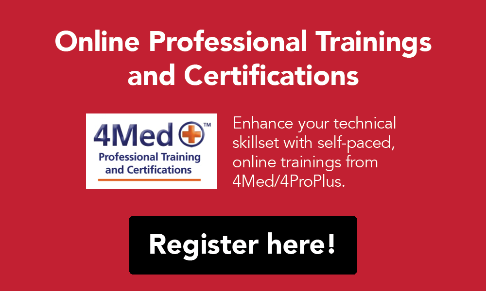 Online Professional Trainings and Certifications. Register here!