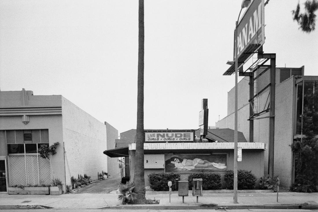 Ed Ruscha photographs the Sunset Strip.