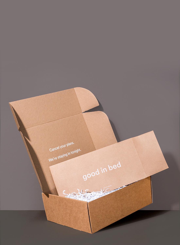 Lunya Packaging.