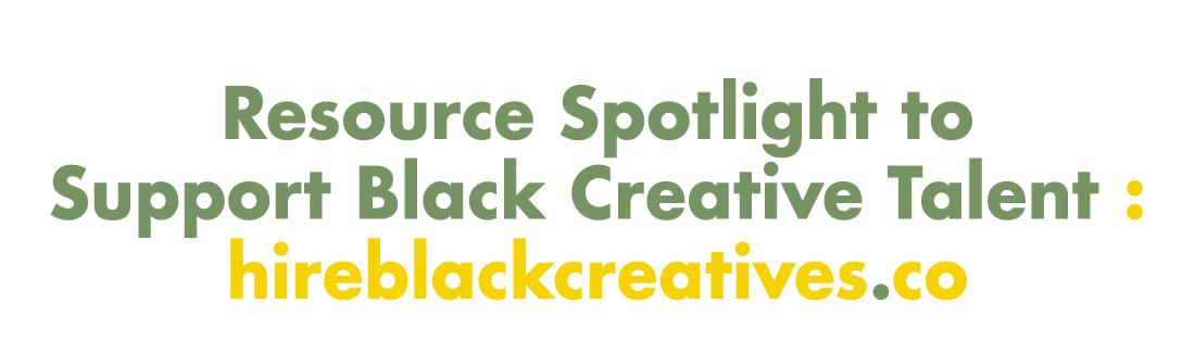 Hire Black Creatives