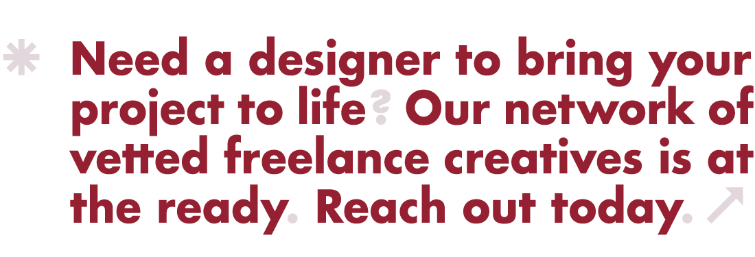 Hire a designer!