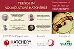 Join our webinar: Trends in Aquaculture Hatcheries - September 15