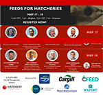 Last call to register for two-day Feeds for Hatcheries webinar
