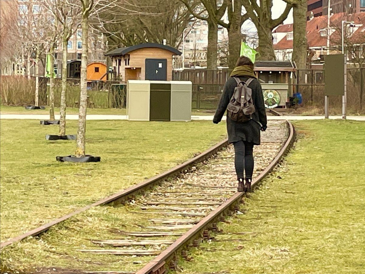 rails in Spoorpark Tilburg