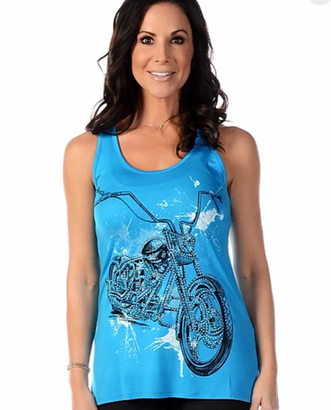 Liberty Wear Splatter Bike Turquoise #11548