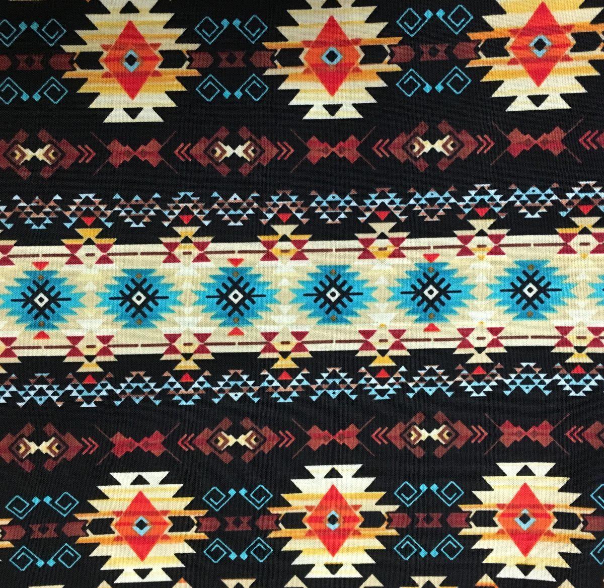 Rockmount Native American Inspired Bandana #174219B