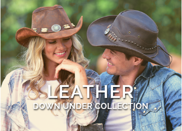 Bullhide Hats Leather Collection