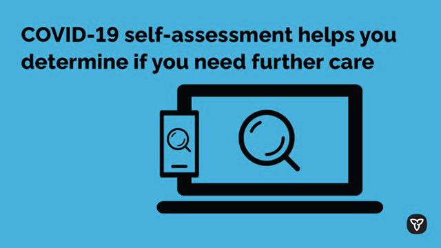Covid-19 Self Assessment