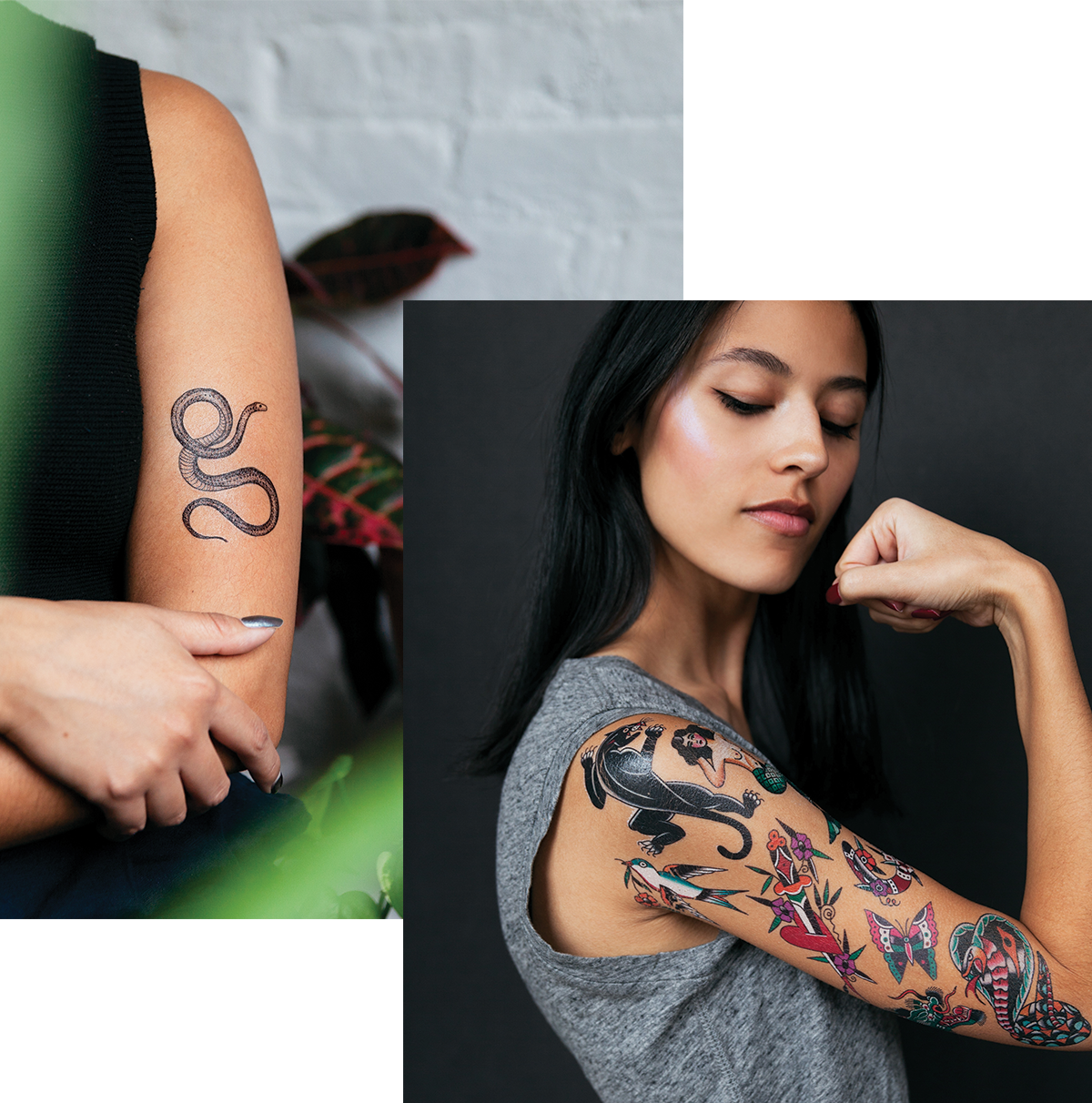 Realistic Tattly by real tattoo artists