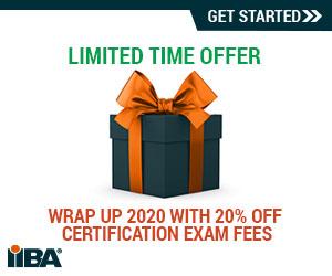 Wrap-up 2020 with IIBA