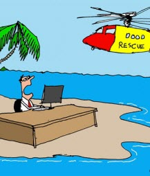 Humor: Work Location Analysis