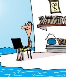Humor: Telecommuting Business Analyst