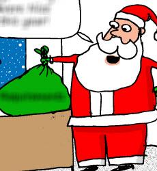 Humor: Santa's Gift