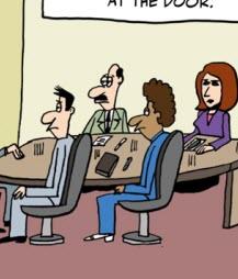 Humor: JAD Session - Hidden Agenda