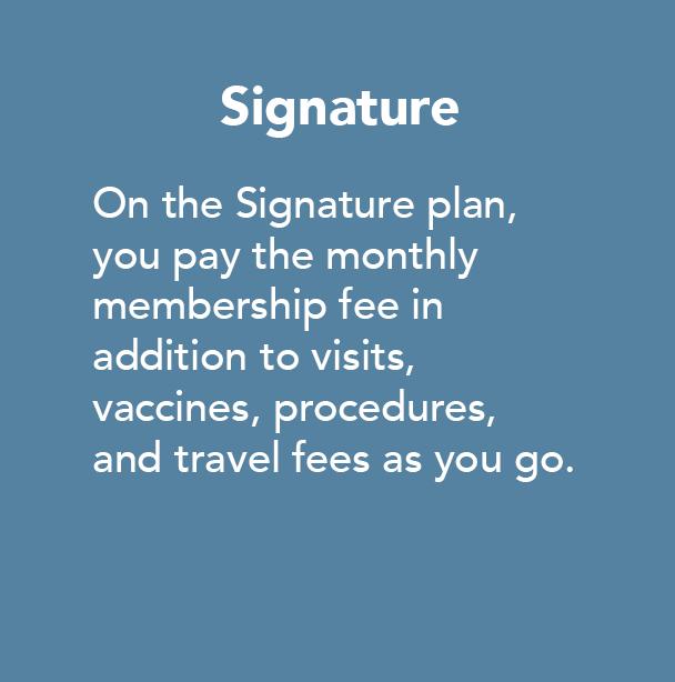 signature plan