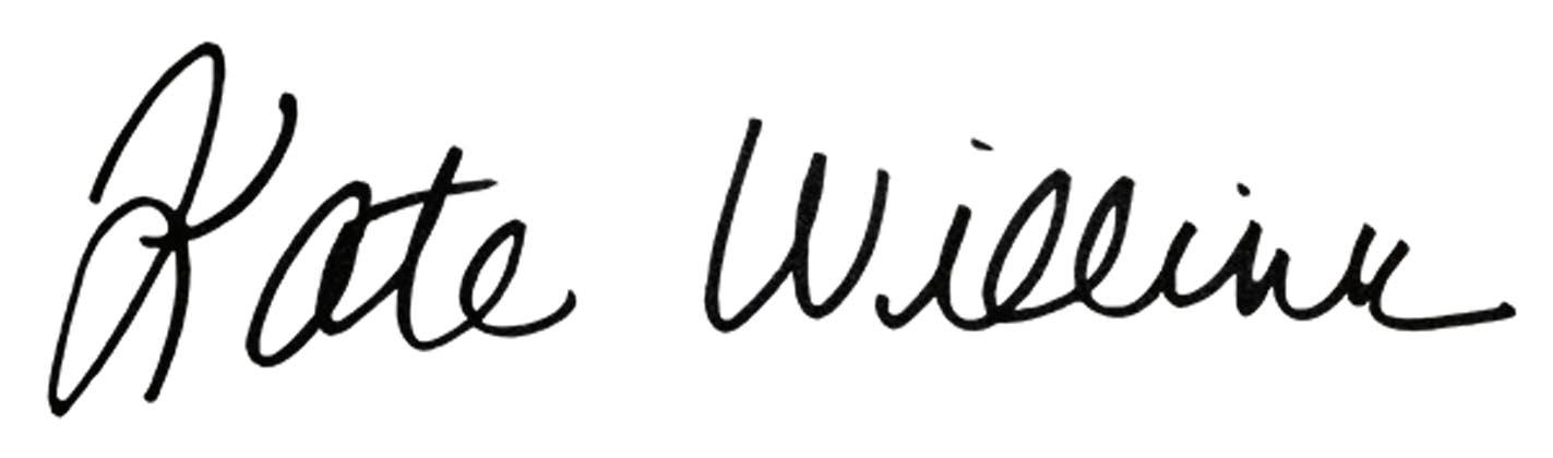 Kate Willink signature