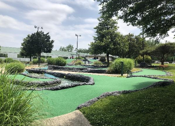 new miniature golf course