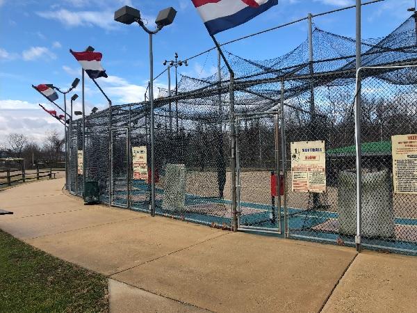 Baseball and softball batting cages