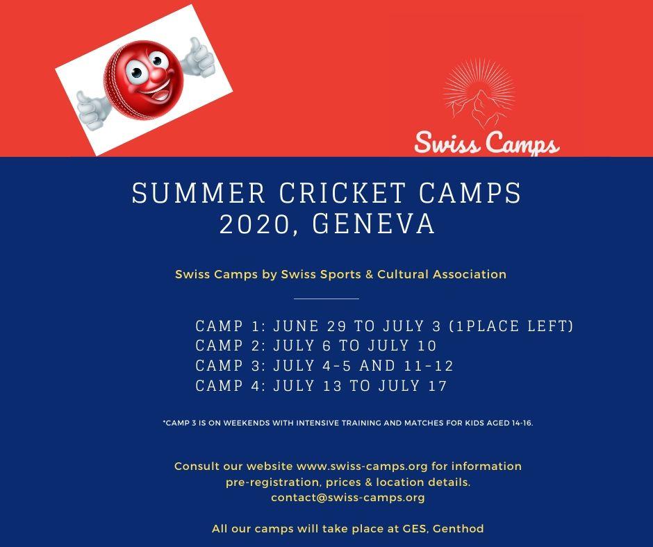 Summer Cricket Camps 2020