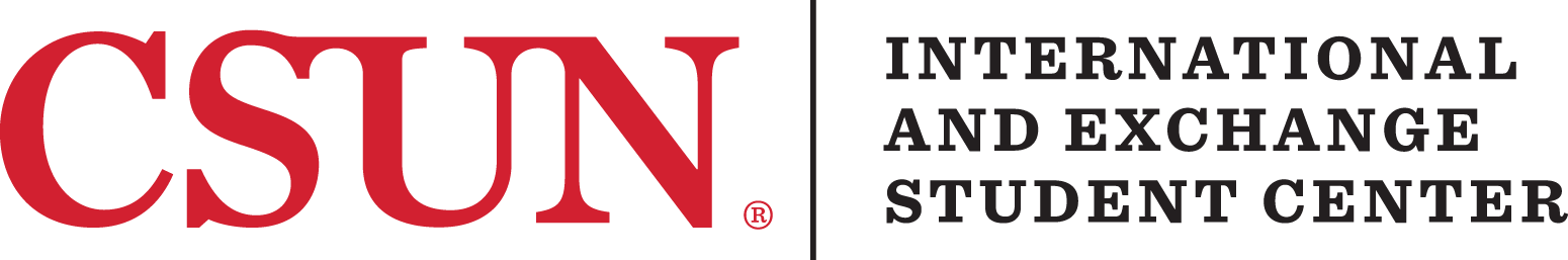 CSUN International and Exchange Student Center logo