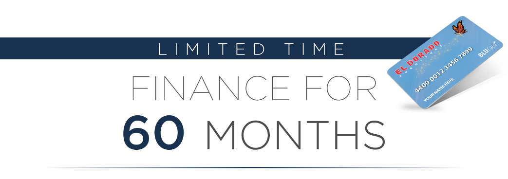 limited time finance for 60 months