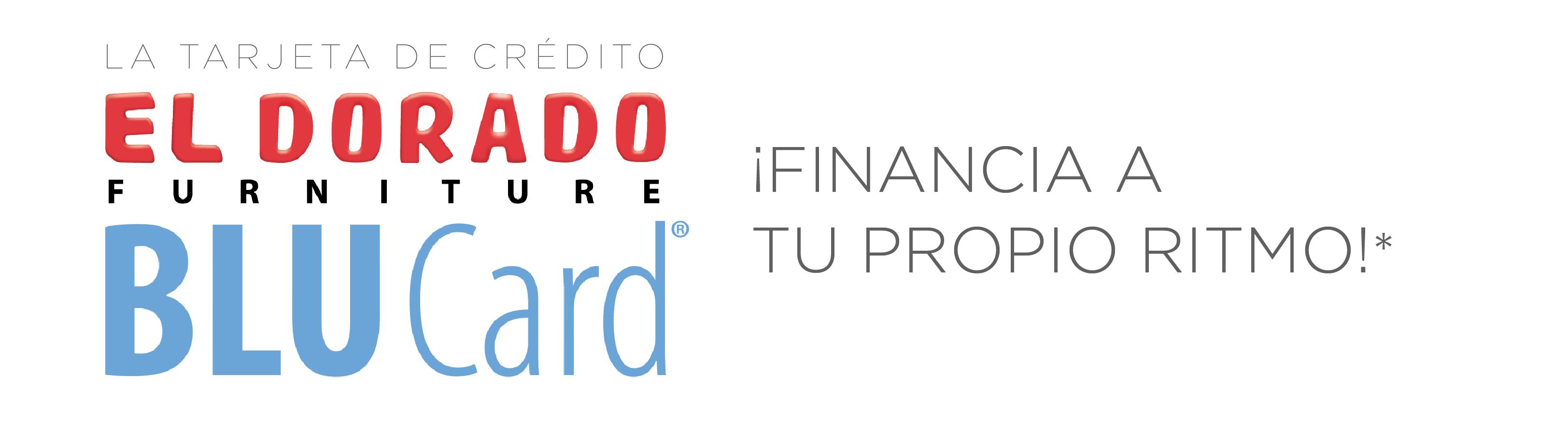 La Tarjeta de credito El Dorado Furniture BLUCard