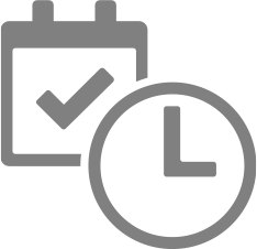 calendar and time icon