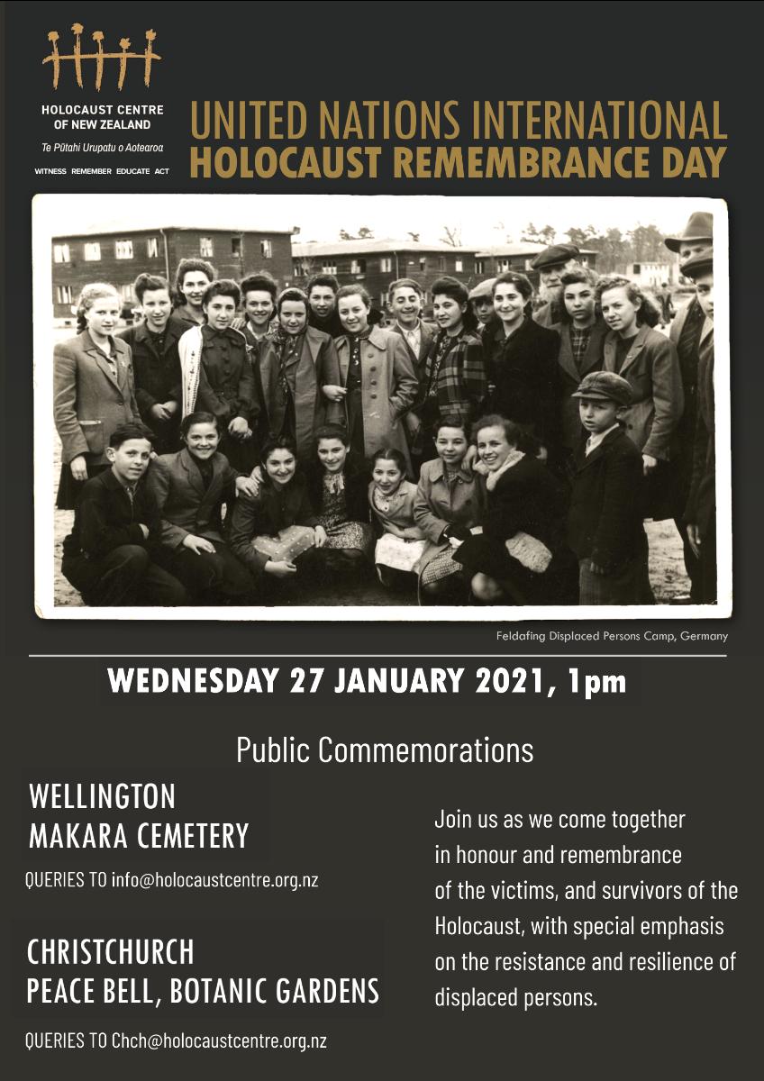 20402713 0867 4d04 80cd 30c4a85d78ab - Public Commemorations - UN International Holocaust Remembrance Day