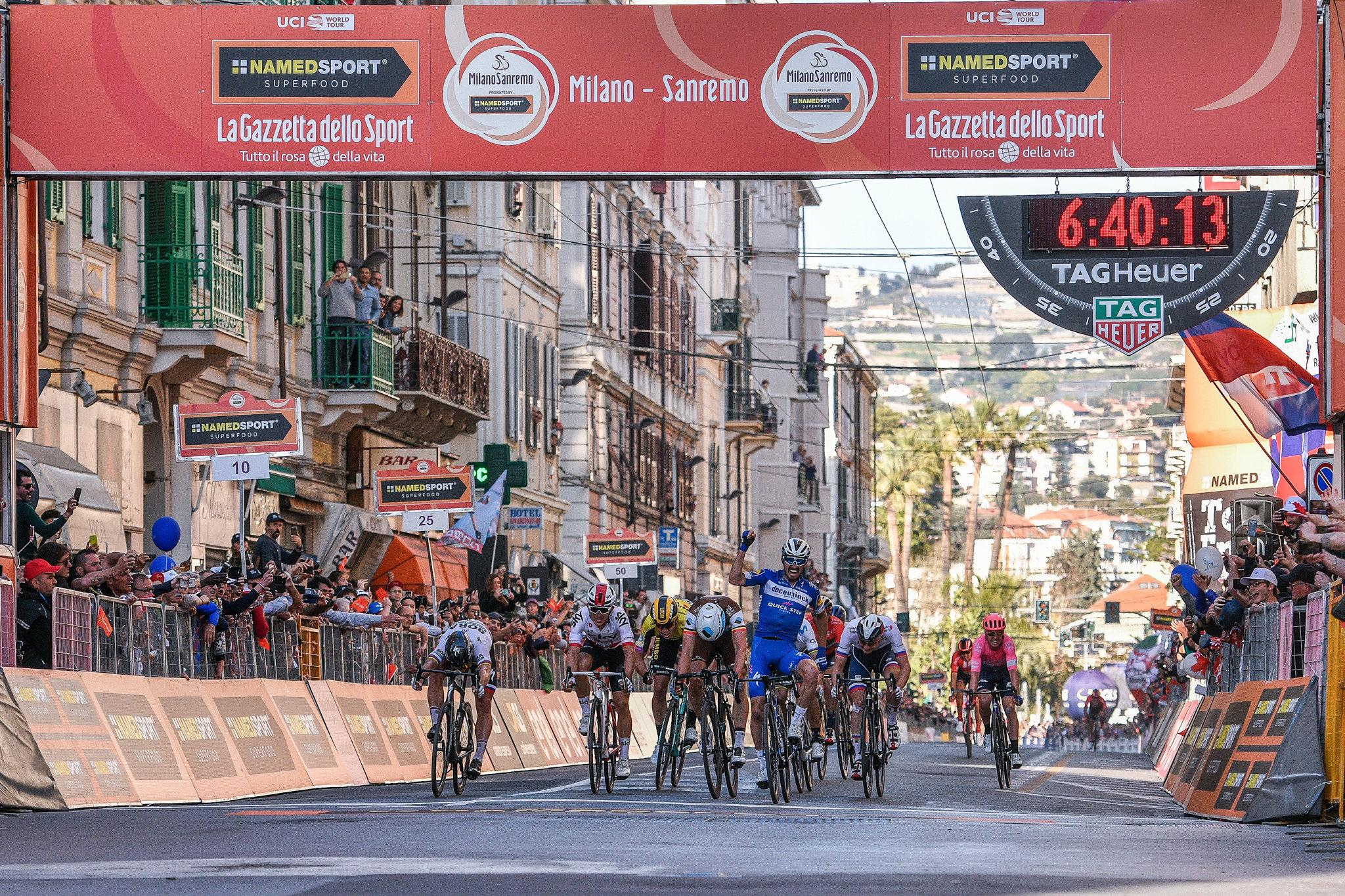 Julian Alaphilippe vince l'edizione 2019 della Milano-Sanremo
