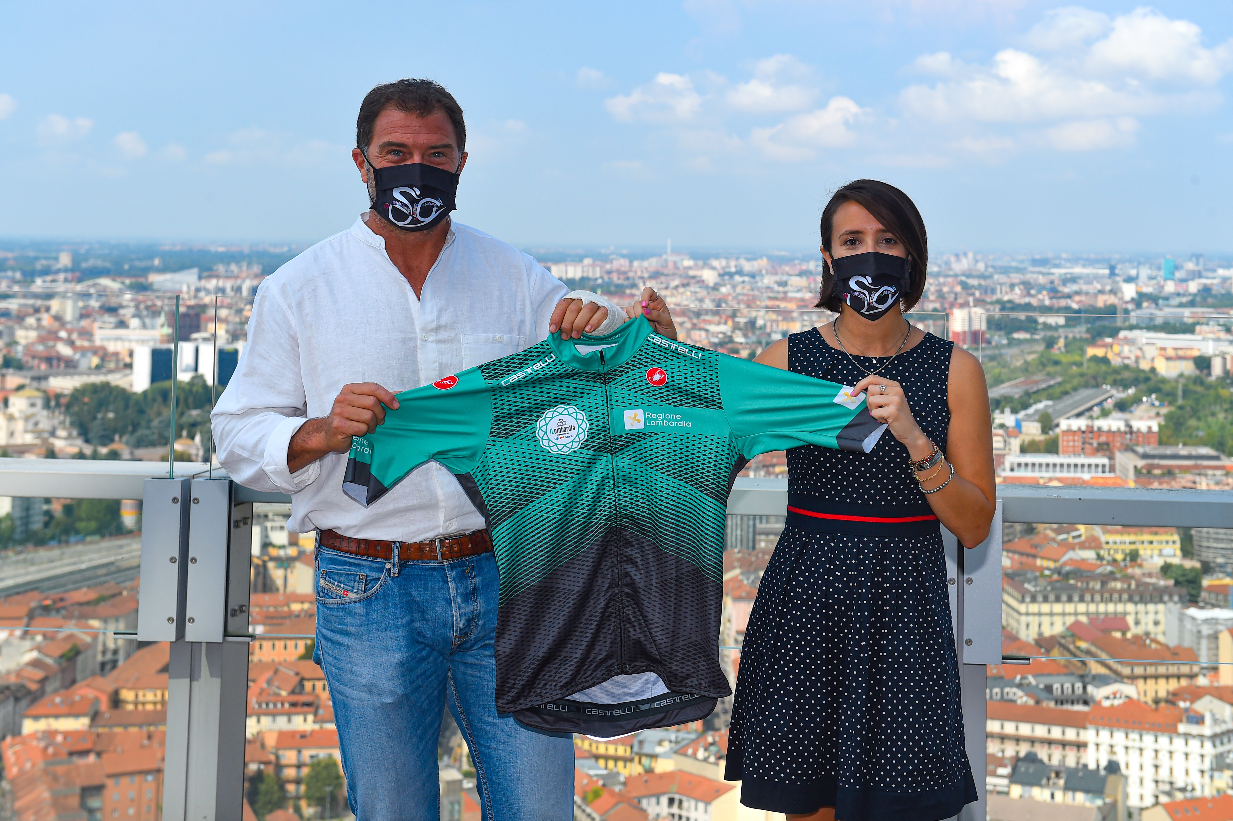Antonio Rossi  e Martina Cambiaghi (Foto Credit: Dario Belingheri)