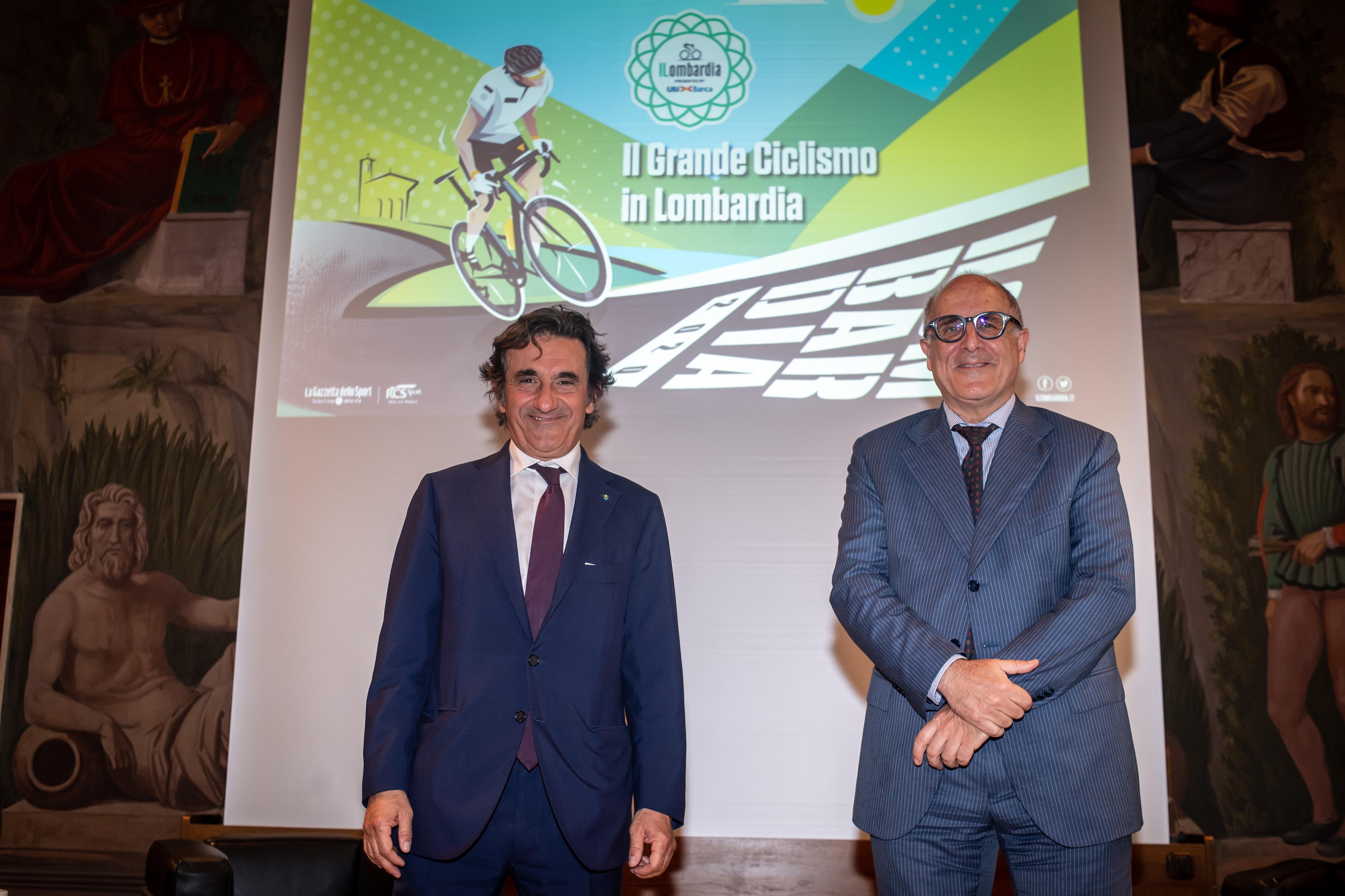 Urbano Cairo, Presidente di RCS Mediagroup e Victor Massiah, Consigliere Delegato di UBI Banca