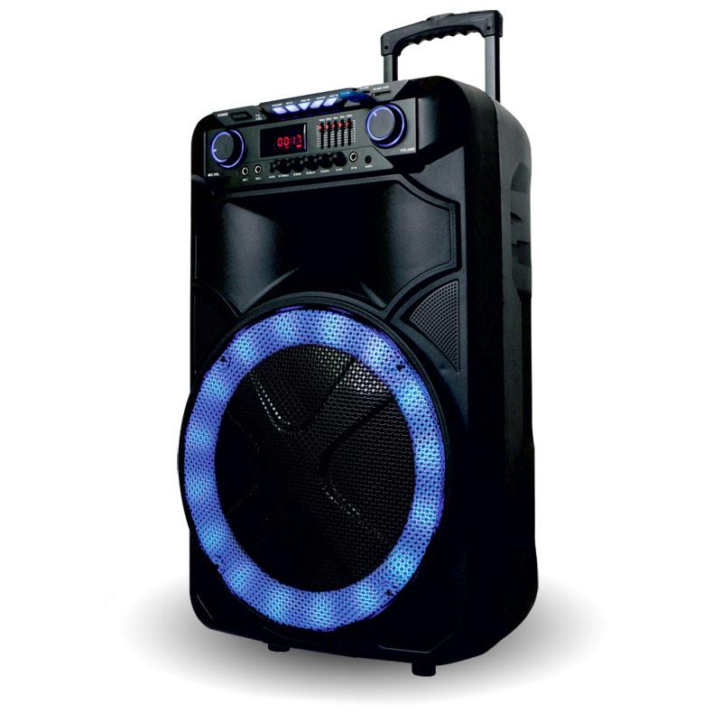 Акустическая переносная колонка Rock Music 150Вт 15 дюймов 72х43х40см 1шт RX7766