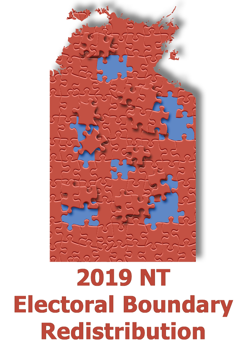 2019 NT Electoral Boundary Redistribution logo